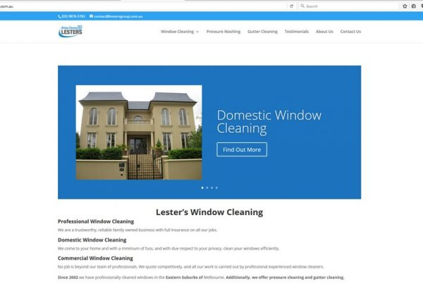 lesters-window-cleaning-website